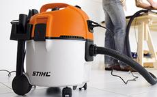 Прахосмукачки за мокро и сухо почистване STIHL