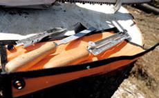 Инструменти и аксесоари за поддръжка режещите инструменти на храсторезите