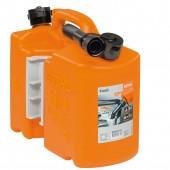Комбинирана туба STIHL, оранжева, професионална 5+3л