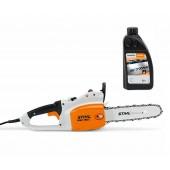 Електрически трион STIHL MSE 190 C-B + 1л. масло за вериги Forest Plus
